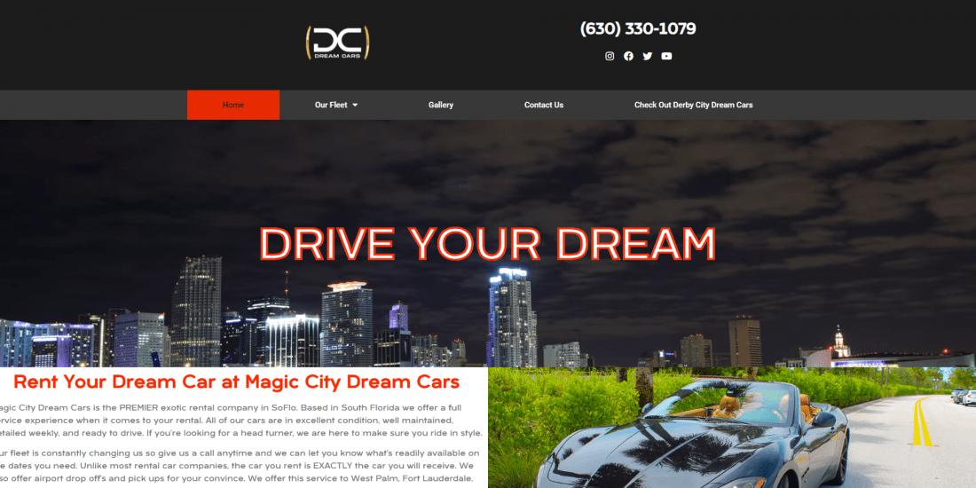 magic city dream cars home screen